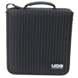 UDG CD Wallet 128 Black / Grey Pinstripe